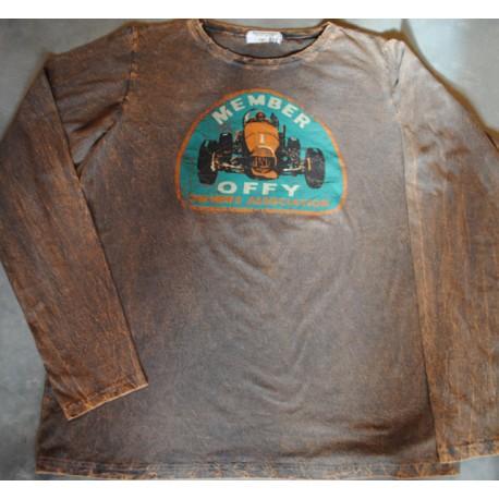 tee shirt size XL long sleeves