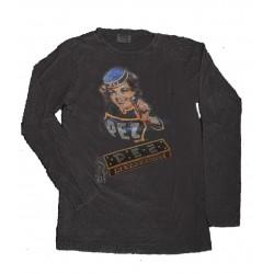 tee shirt size L long sleeve
