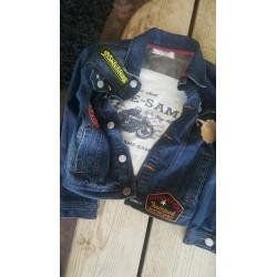 blouson jeans 5 ans